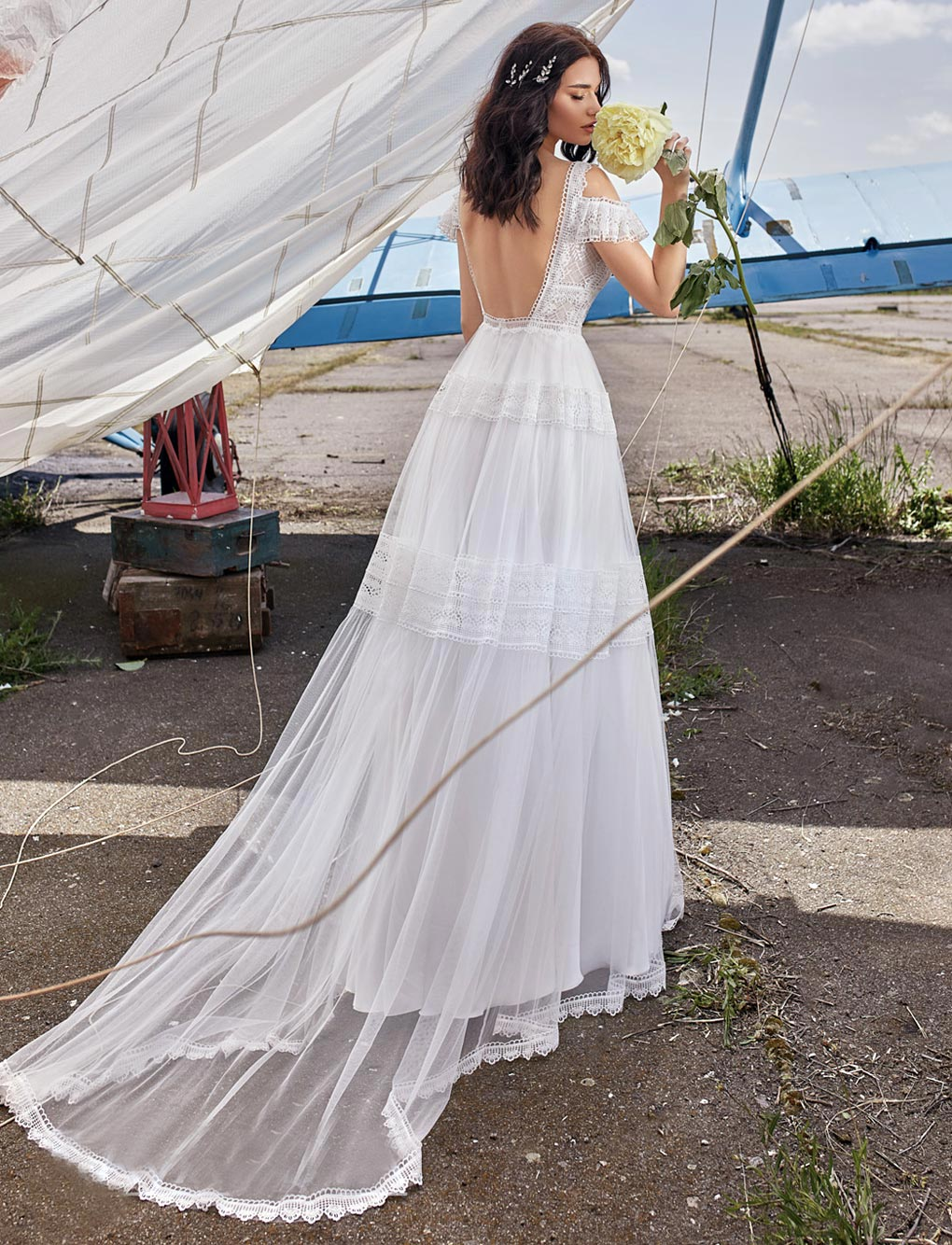 Boho-Brautkleid-Marisol-back-Bella-Sposa