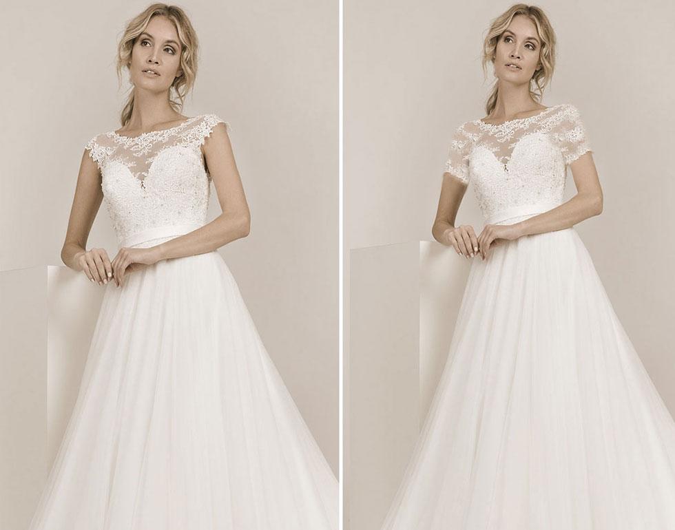 Designänderungen auf Hochzeitskleider