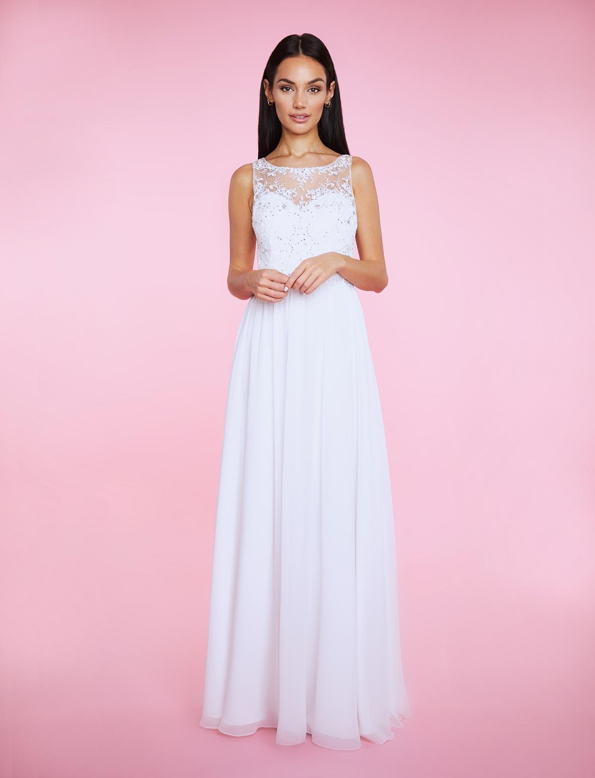 LA43009L-crem-white-1-Bella-Sposa