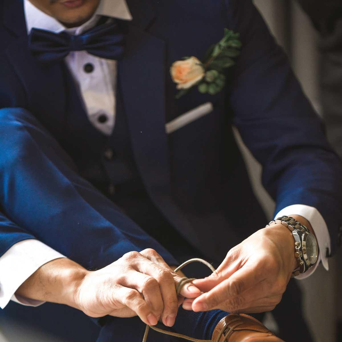 Anzug-Hochzeit